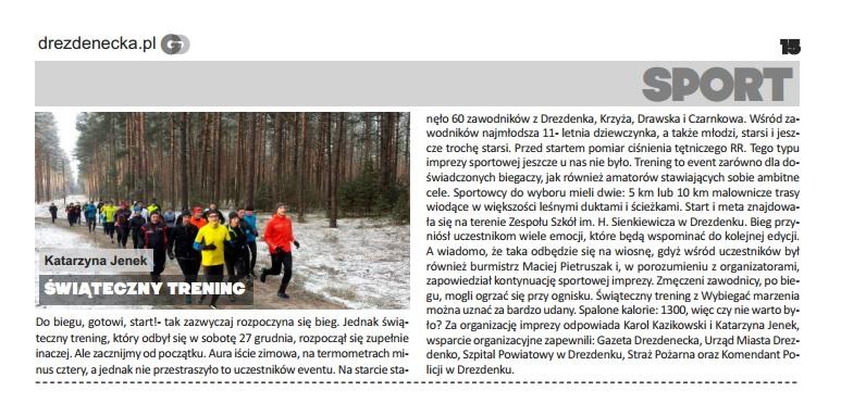 Gazeta drezdenecka - styczeń 2015